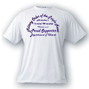 Department or Chapter Proud Supporter Tee