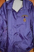 Purple Oxford Windbreaker