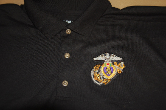 Polo Shirt USMC Purple Heart EPHA