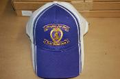 Hat Purple/White MOPH Ribbon Logo