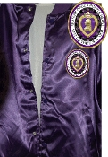 MOPH Purple Satin Jacket