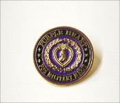 3D Purple Heart Military Merit Lapel Pin