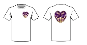 T shirt Legacy Purple Heart