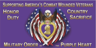 American Eagle Purple Heart Supporter Package
