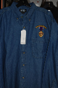 Purple Heart Medal L/S Denim Shirt
