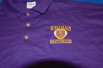 Purple Heart Medal Polo Shirt