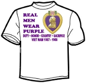 Real Men Purple Heart