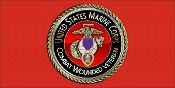 Branch of Serice License Plate USMC