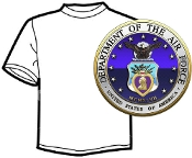 Branch of Serice T-Shirt Air Force