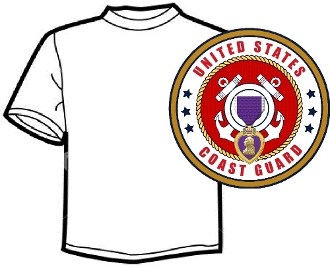 Branch of Serice T-Shirt Coast Guard