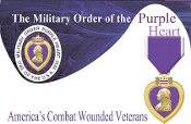 Purple Heart Cards/Envelopes (25sets)