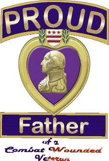 Purple Heart Family T-Shirt(Males)