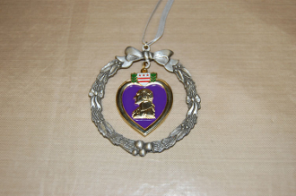 Purple Heart Ornament