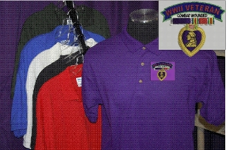 Purple Heart Polo