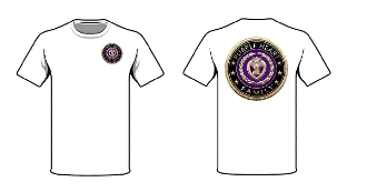3D Purple Heart Family T-Shirt