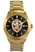 Purple Heart Gold Watch