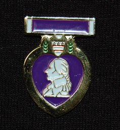 Purple Heart Lapel Pin P7
