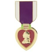Purple Heart Pins