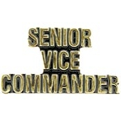 Sr Vice Lapel Pin